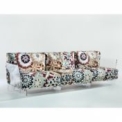 Kartell: Brands - Kartell - Pop Missoni Three Seater