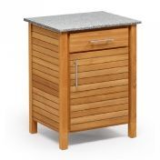Weishäupl: Design special - Teak garden furniture - Deck Outdoorkitchen Single Board