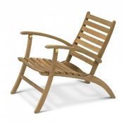 Skagerak: Design special - Teak garden furniture - Selandia Lounge Chair