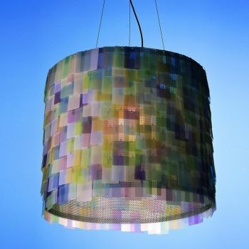 Light Colors Suspension Lamp