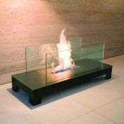 Radius: Brands - Radius - Floor Flame open fire