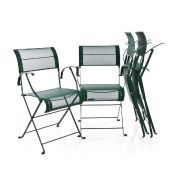 Fermob: Brands - Fermob - Dune Folding Chair Garden Set