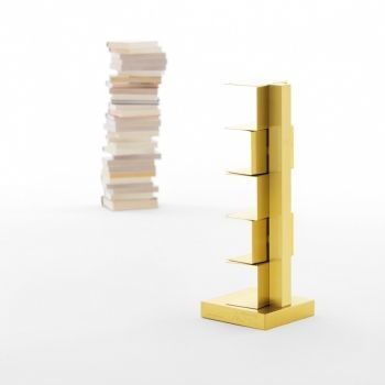 Ptolomeo Gold Bookcase