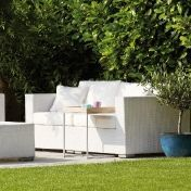 Jan Kurtz: Design special - Rattan garden furniture - Mercy 2-Seater Outdoor Sofa