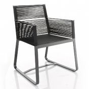 Kettal: Categories - Furniture - Landscape Dining Armchair / Garden Chair