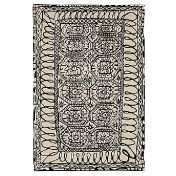 Nanimarquina: Categories - Accessories - Black on white / Estambul Carpet