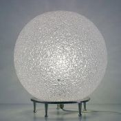 Lumen Center Italia: Marques - Lumen Center Italia - Ice Globe 02 - Lampe de Table