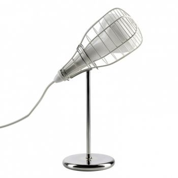 Cage Mic Table Lamp