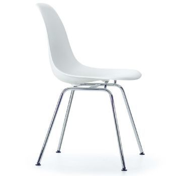 Eames Plastic Side Chair DSX - Silla