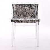 Kartell: Categories - Furniture - Mademoiselle Chair frame transparent