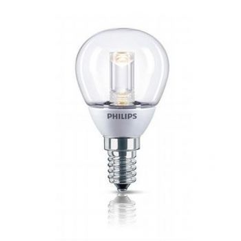 LED E14 Tropfen 3W klar dimmbar