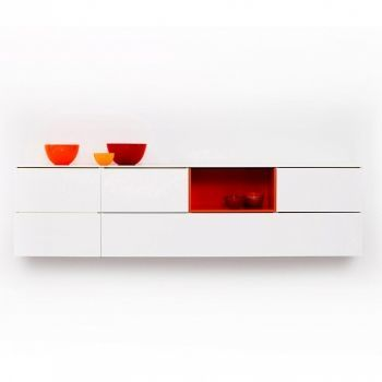 Bloc Sideboard wall mounted