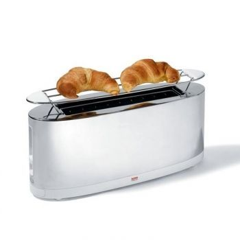 Alessi Toaster With Bun Warmer