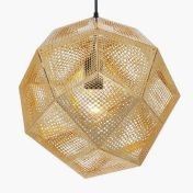 Tom Dixon: Brands - Tom Dixon - Etch Shade Suspension Lamp