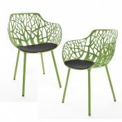 Weishäupl: Design Special - Weishäupl Ensembles chaises - Forest - Outdoor set de 2 fauteuils