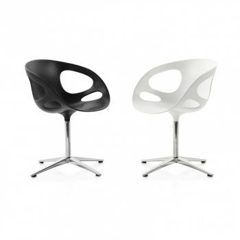 Rin Swivel Chair Frame Aluminium