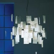 Ingo Maurer: Categories - Lighting - Zettel'z 5 Suspension Lamp