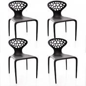 Moroso: Marques - Moroso - Supernatural - Lot  de 4 Chaises