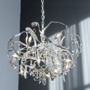 Brand van Egmond: Categories - Lighting - Delphinium Round Chandelier