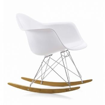Eames Plastic Armchair RAR Rocking Chair