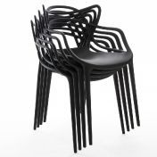Kartell: Brands - Kartell - Masters Chair 4 piece Set