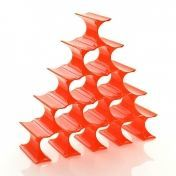 Kartell: Categories - Furniture - Infinity Bottle Rack