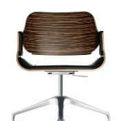 Interstuhl: Marcas - Interstuhl - Silver Swivel Chair 610S + 620S