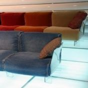 Kartell: Categories - Furniture - Pop Three Seater