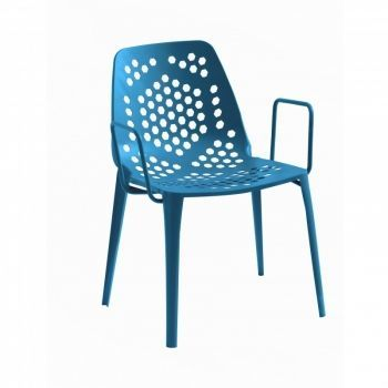 Pattern Garden Armchair stackable