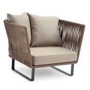 Kettal: Brands - Kettal - Bitta Club Armchair / Garden Chair