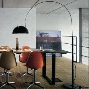 Oluce: Categories - Lighting - Coupé 3320/R Floor Lamp