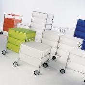 Kartell: Categories - Furniture - Mobil 6 Container with wheels