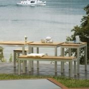 Jan Kurtz: Design special - Teak garden furniture - Luxury Garden Bench