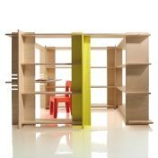 Magis: Categories - Furniture - My First Office  Shelving System