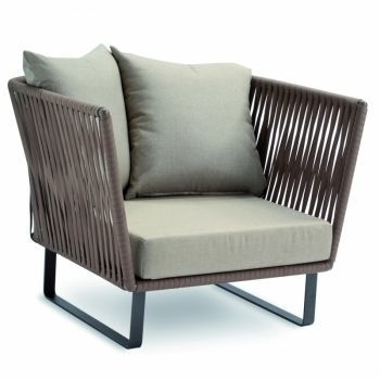 Bitta Club Armchair / Garden Chair