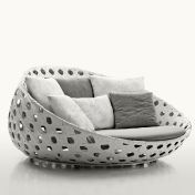 B&B Italia: Design Special - Made in Italy - Canasta - Lounge Sillón