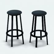 Established & Sons: Marques - Established & Sons - Revolver - Tabouret de Bar
