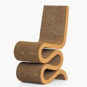 Vitra: Categories - Furniture - Wiggle Side Chair