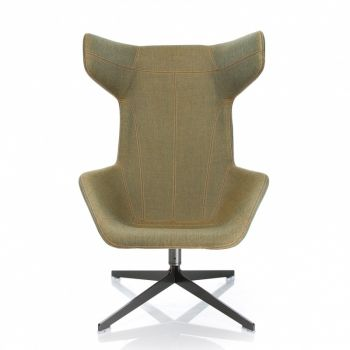Take a Line For a Walk Swivel Armchair