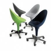 Magis: Categories - Furniture - Bombo Chair (on Wheels)