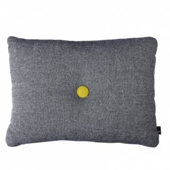 Dot Cushion 2 buttons fabric Hallingdal