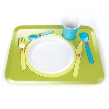 Puzzle Dinner Tray for Kids