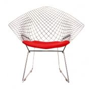 Knoll International: Categories - Furniture - Bertoia Diamond Easy Chair