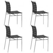 Alias: Categories - Furniture - Tagliatelle Outdoor Chair 4-piece Set