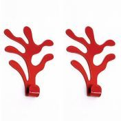 Alessi: Brands - Alessi - Mediterraneo Wall Hook Set