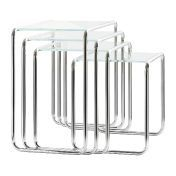 Thonet: Brands - Thonet - Thonet B9 Side Table glass