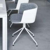 la palma: Marques - la palma - Cut - Chaise rembourrée avec piètement étoilé