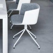 la palma: Brands - la palma - Cut  Swivel Chair Upholstered With Star-Base