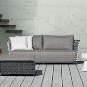 Gervasoni: Brands - Gervasoni - InOut 803 Poly Rattan Outdoor Sofa