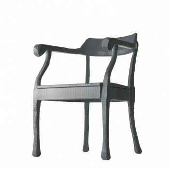 Raw Lounge Chair - Silla con Apoyabrazos